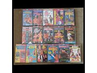 WCW ECW FMW USWA Wrestling VHS Videos for Sale £7 Each