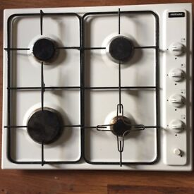 4 burner gas hob - free delivery possible