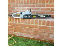 Titan electric chainsaw