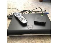 Sky + HD 500mb set top box with wifi connector & remote