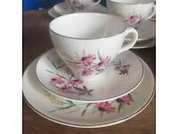 Pretty pink Daisy china set
