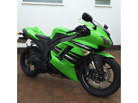 2008 KAWASAKI ZX6R WITH GENUINE 1630 MILES ON THE CLOCK