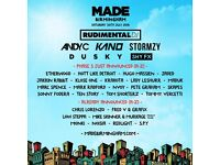 4x MADE Festival Birmingham tickets for sale Meet at the Venue