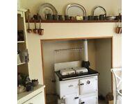 White Rayburn Oven