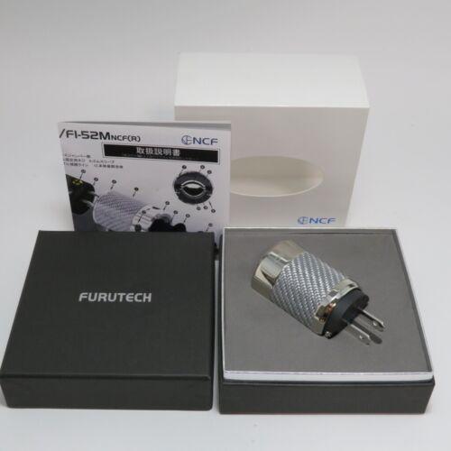 FURUTECH FI-50M NCF (R) High-End Grade Power Plug Rhodium from Japan