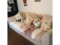 Immaculate condition 4 seater sofa with cushions
