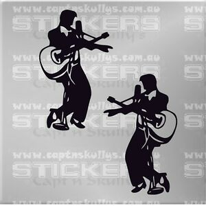 ELVIS-PRESLEY-DECAL-150mmx105mm-15-COLOURS-TO-CHOOSE