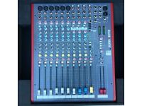 ALLEN AND HEATH ZED 12 FX AND CASE