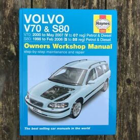 Haynes Volvo V70/S80 Workshop Manual