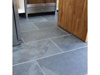 Black Slate Floor Tiles 60 x 40cm | 17.28m2 | 72 tiles | FREE DELIVERY WORKS OUT £3.88 EACH