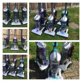 FREE DELIVERY VAX BAGLESS UPRIGHT VACUUM CLEANER HOOVERS omg