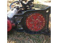 Broken Victorian Cast Iron Mangle