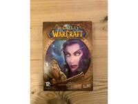 World of Warcraft Original Game Case & Disks