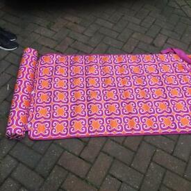 Roll up memory foam mat brand new
