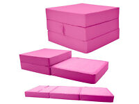 Adult Cube Single Chairbed - Hot Pink