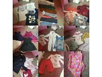 Bundles of Girls clothes 2-3