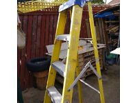 Clow Fiberglass step ladder