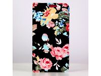 Magnetic Floral Printed case for Samsung S6 edge