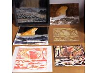 1 day printmaking, creative textiles, lino cut & plaster casting courses for all skills levels