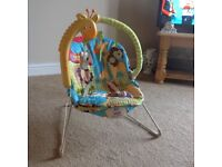 Fisher price calming sensations baby chair.