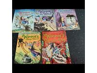 Collection of 5 NEW Winnie the witch books for children