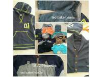 TED BAKER JEANS AND HOODIE