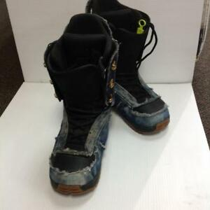 Forum Recon Snowboard Boots 10.5 Demin (Used-JTYT5V)