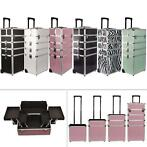 Kapperskoffer Nagelkoffer Koffer  Beauty case trolley