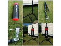 York fitness punch bag stand with punch bag