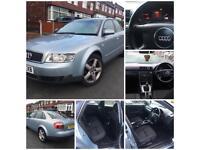 Audi A4 1.9 TDI SE Diesel 6 Speed Blue Saloon (not Honda Toyota Merc)