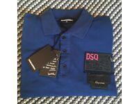 Brand new 100% genuine dsquared polo Tshirt