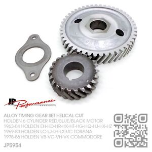 JP5954 ALLOY TIMING GEAR 6 CYL 149-161-179-186-X2 RED MOTOR [HOLDEN EH-HD-HR]