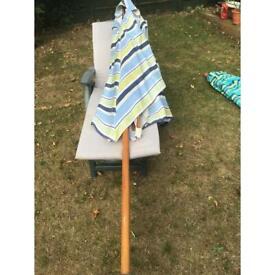 John Lewis rectangular parasol