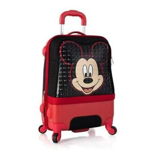 Heys Disney Clubhouse 21 Inch Hybrid Carry on Spinner Luggage for Kids [Mickey]