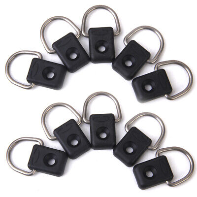 MagiDeal 10 Pack Kayak D Rings Outfitting For Boat Canoe Kayak Accessories for sale  Shipping to Canada