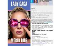 1 Lady Gaga Come To Mama Early Entry ticket for sale