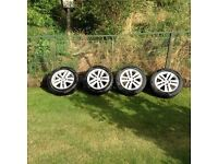 16 inch Vauxhall alloys and tyres