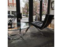 Genuine Knoll Barcelona Chair - Mint