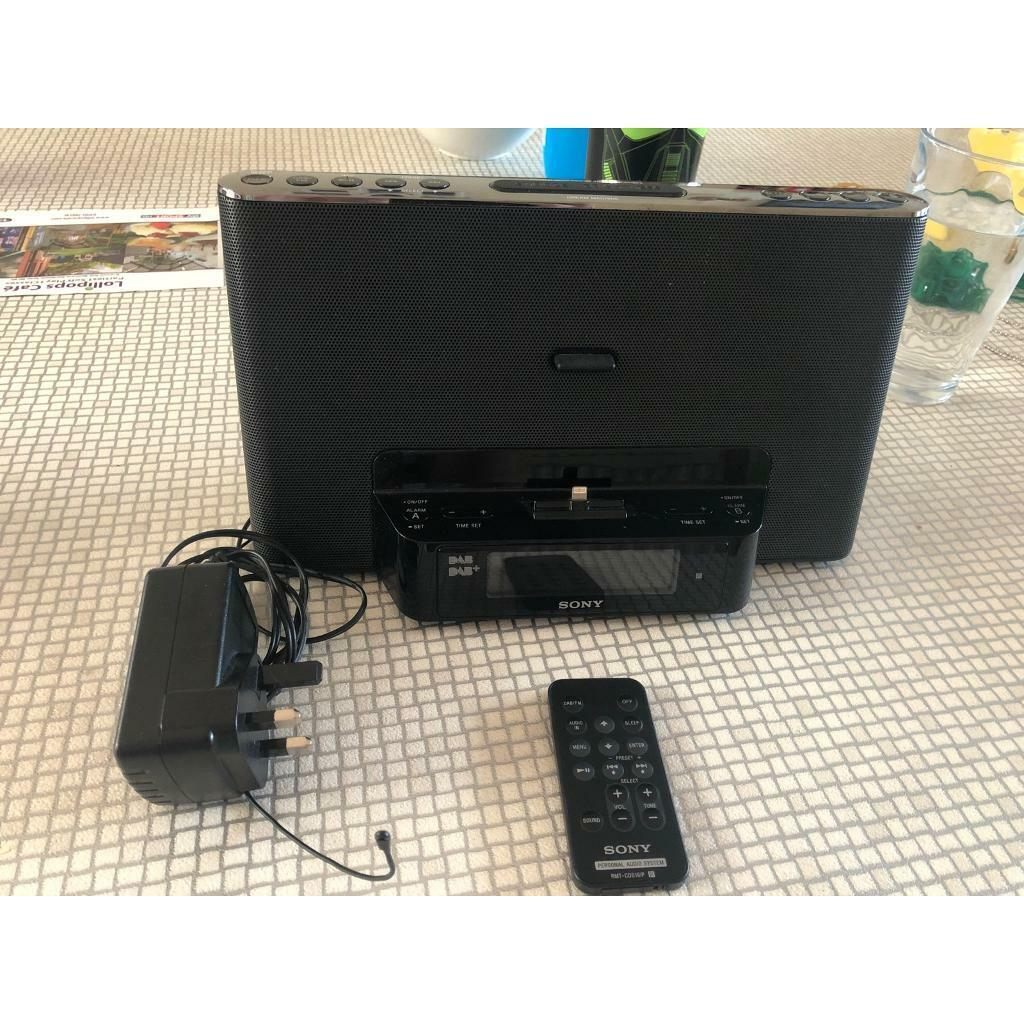 Sony Dream Machine DAB radio alarm clock, with iPhone charger | in  Bournemouth, Dorset | Gumtree