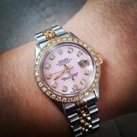 ROLEX lady just-date oyster perpetual .. 26MM ..