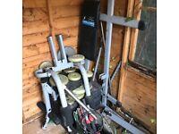 Carl Lewis weight multi gym.