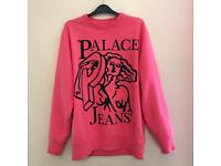 Palace Jeans Pink Crew