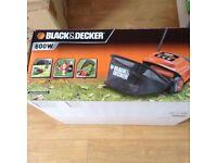 Black and decker electric lawn raker/scarifier