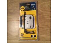 Brand new Yale Internal 2 Lever Mortice Lock in Chrome