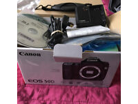 Canon 50d DSLR with extras
