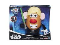 STAR WARS Mr Potato Head Luke Frywalker DISNEY PLAYSCHOOL 12 PIECES FUN TOYS FOR ALL CHILDREN
