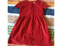 Gap Kids Red Corduroy Derss