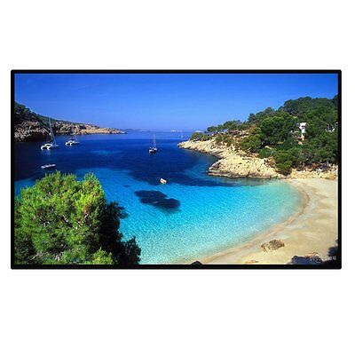 Excelvan Outdoor Portable Movie Screen 120 Inch 16:9 Home Cinema Projector Sc...