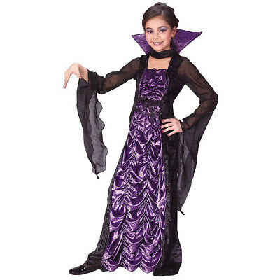 Partyland Kostüme (Partyland Countess of Darkness Witch Child Costume | Fun World 5899)
