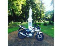 Honda CBF125 White